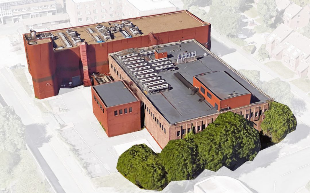 Data centre set for demolition